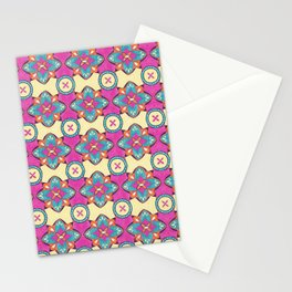 Lily Pulitzer Inspired Spanish Tiles Pattern Stationery Cards