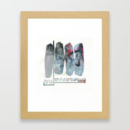 CHAOS▲ Framed Art Print