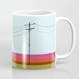 Electrical Pole Art Coffee Mug