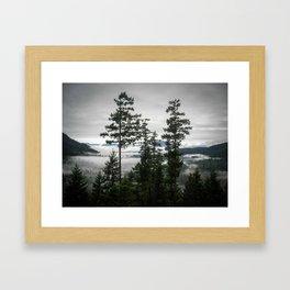 Bowen Island Retreat View Framed Art Print