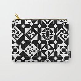 Quilt Squares Carry-All Pouch
