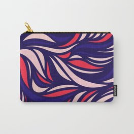Wavy Pinky Pue Carry-All Pouch