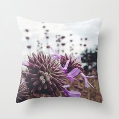 Lost in Marina Throw Pillow