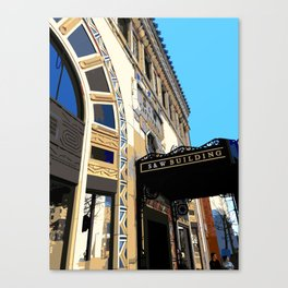 Asheville S&W Building Canvas Print