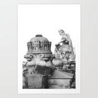 SOMMET D'ORSAY  Art Print