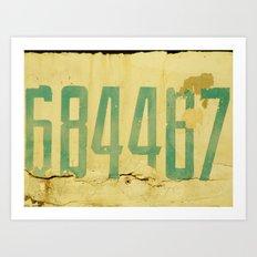 The Secret Code Art Print