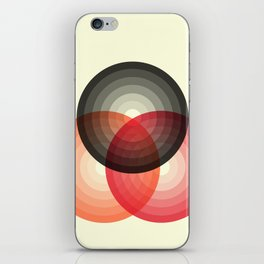 Three colour circles, inspired by Lacouture's Répertoire chromatique iPhone Skin