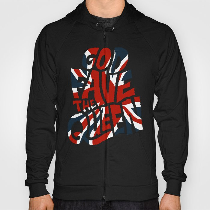God Fave The Queen Hoody