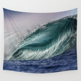 Silver Swells Wall Tapestry