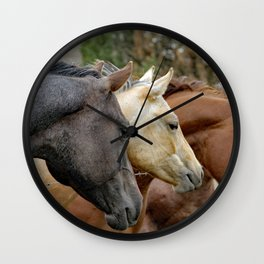 Four of a Kind Wall Clock