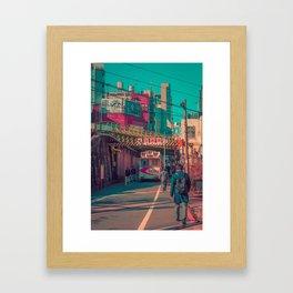 TOKYO CITY 05 Framed Art Print