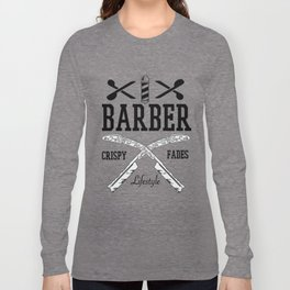 Barber Life | Barbershop Barber T-Shirt Long Sleeve T-shirt