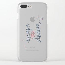 escape drama Clear iPhone Case