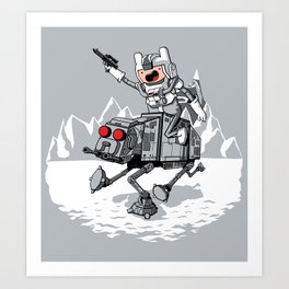 All Terrain Adventure Transport Art Print