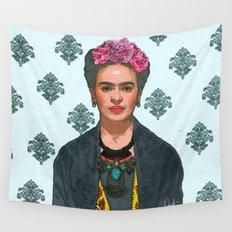 Trendy Frida Kahlo V.2 Wall Tapestry