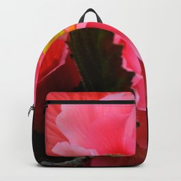 Begonia Flower by Teresa Thompson Backpack