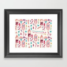 And I Was Daydreaming One Day... Framed Art Print