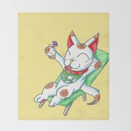 Yasumi o toru Throw Blanket