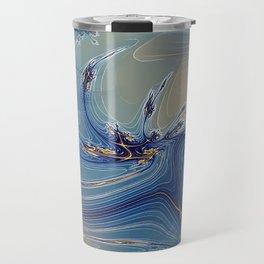 Fractal Flash Splash Travel Mug