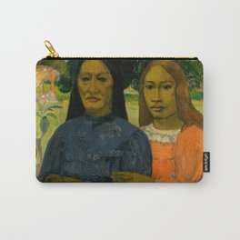 """Paul Gauguin """"Two Women"""" Carry-All Pouch"""