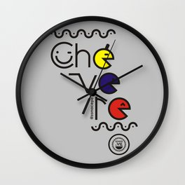 ¡Chévere Tricolor! Wall Clock