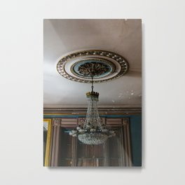 Charleston Chandelier III Metal Print