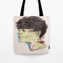 Someday, came suddenly. Tote Bag