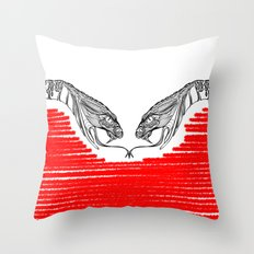 Duality - Love Throw Pillow