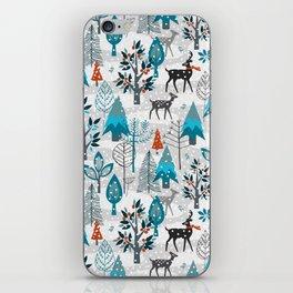 Snow Much Courage iPhone Skin