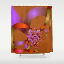 fractal geometry -153- Shower Curtain