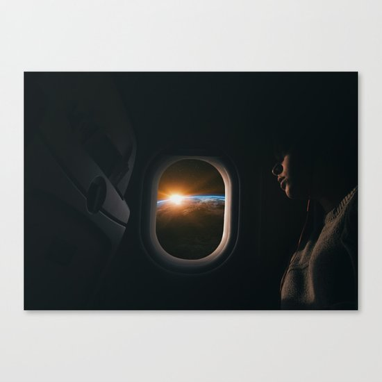 Homesick Canvas Print