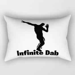 Infinite Dab Rectangular Pillow