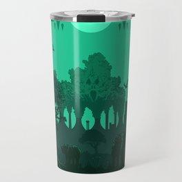 Polluted Earth Travel Mug