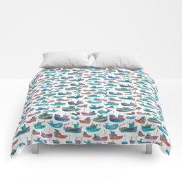 Fishing Boats Comforters