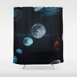 Jellyfish Cells (Color) Shower Curtain