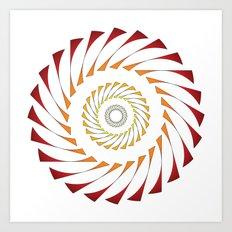 Circle 3B Art Print