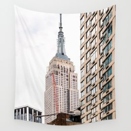 Empire State Building in New York Wall Tapestry