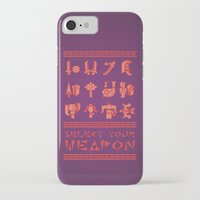 monster hunter iPhone & iPod Cases featuring Monster Hunter: Select Your Weapon by KEITHXIII