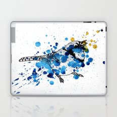 Splattered Blue jay Laptop & iPad Skin
