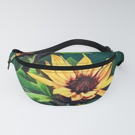 Watercolor sunflowers Fanny Pack