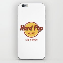 Hard Pop Music iPhone Skin
