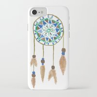 dream catcher iPhone & iPod Cases featuring Dream Catcher by Kayla G