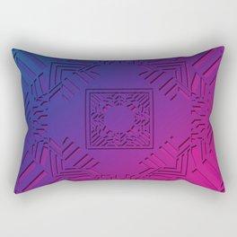 Art Deco Fusion Rectangular Pillow