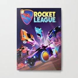 rocket league Metal Print