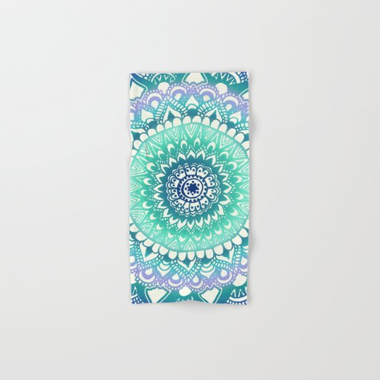 Deep Forest Flower Hand & Bath Towel