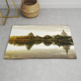 Idaho Falls Temple - Sunrise Rug