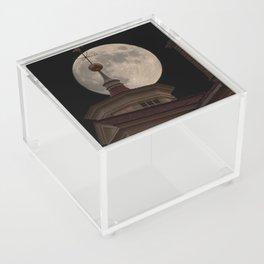 Moon Over Mount Vernon Acrylic Box