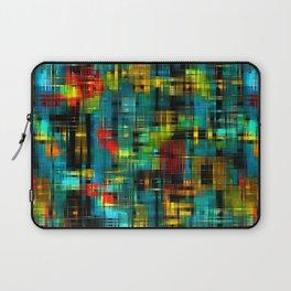 Art splash brush strokes paint abstract seamless pattern print background Laptop Sleeve