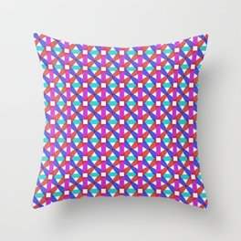 Rotated Ellipses 1 Throw Pillow