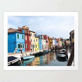 All The Colors Of The Rainbow Art Print